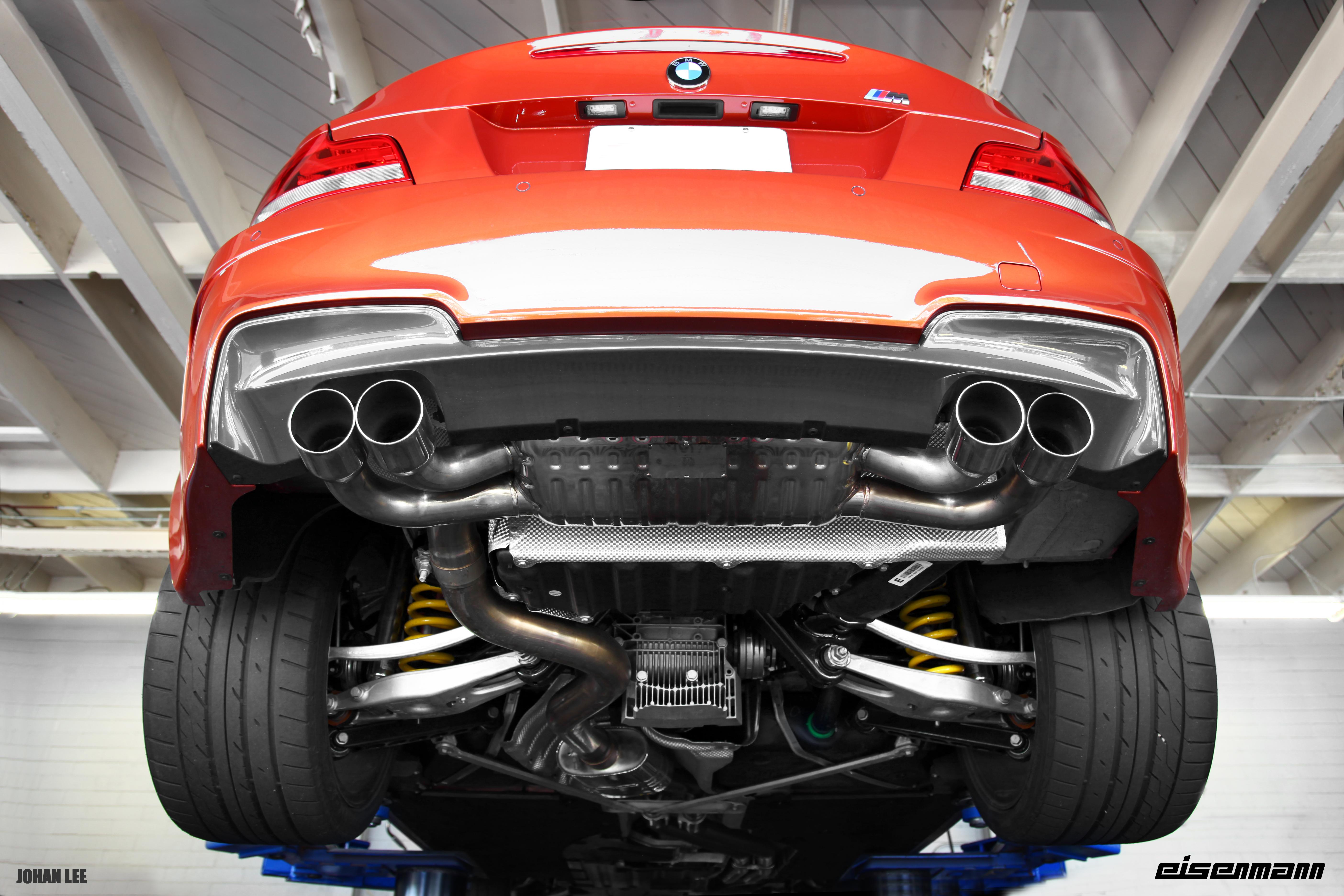 bmw store performance eisenmann exhaust